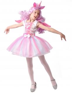 Einhorn-Kostüm mit Tutu für Mädchen Faschingskostüm rosa