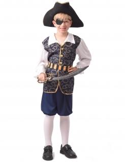Todschickes Piraten-Kostüm für Jungen bunt