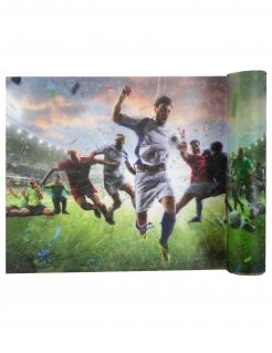 Fußball-Tischläufer Sportevent-Tischdeko bunt 30 cm x 5 m