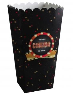 Popcorn-Tüte mit Sternen Cinema 8 Stück 6 x 17 cm