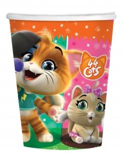 Offizielle 44 Cats™-Partybecher 8 Stück bunt 250 ml