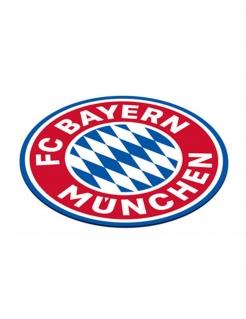 FC Bayern München™ Untersetzer 12 Stück blau-weiß-rot 10 cm