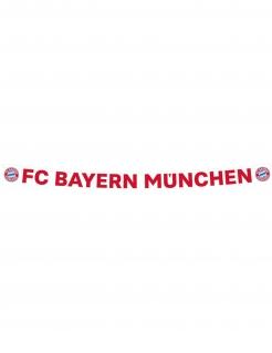 FC Bayern München™ Banner weiß-rot-blau 180 x 11 cm
