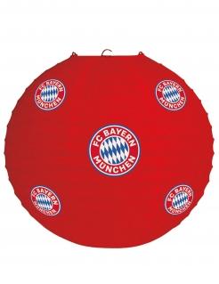FC Bayern München™ Lampion rot-weiß-blau 25 cm