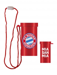 FC Bayern München™ Fan-Tröte rot-weiß-blau 7,5 cm
