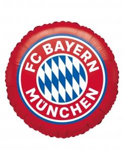 FC Bayern Münschen™-Aluminiumballon rot-weiß-blau 45 cm