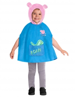 Peppa Wutz™-Kostüm für Kinder Faschingskostüm blau-rosa
