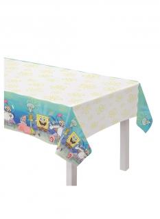 Spongebob Schwammkopf™-Tischdecke Partydeko bunt 130x240 cm