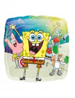 Spongebob Schwammkopf™-Luftballon Partydeko bunt 43 cm