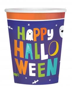 Halloween Friends-Partybecher für Kinder Halloween-Deko 16 Stück bunt 250 ml