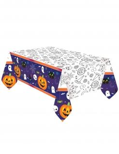Halloween Friends-Tischdecke Halloween-Partydeko bunt 1,2x1,8 m