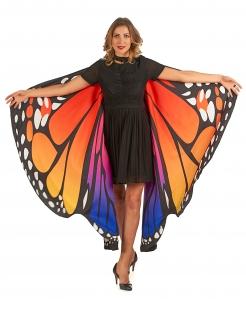 Zauberhafte Schmetterlingsflügel für Erwachsene bunt