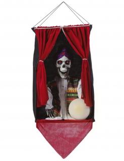 Wahrsagerin-Hängedeko Halloween-Partydeko bunt 70x30 cm