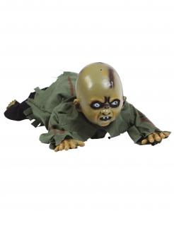 Baby-Dekofigur mit Licht und Sound Halloween-Deko grün 75 cm