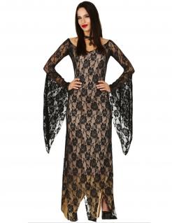 Teuflisches Damenkostüm Filmkostüm Halloween schwarz