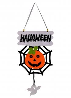 Kürbis-Hängedeko Halloween-Partydeko bunt 60 cm