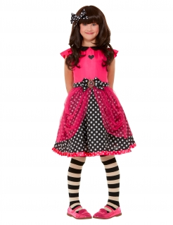 Ladybird Santoro™-Kostüm für Mädchen Marienkäfer Karneval rot-schwarz