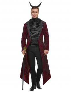 Sexy Teufel-Kostüm für Herren Halloweenkostüm schwarz-rot