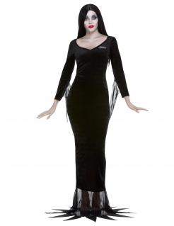 Offizielles Morticia-Damenkostüm Addams Family™ schwarz