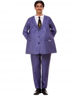Offizielles Gomez-Herrenkostüm Addams Family™ violett-schwarz-weiß
