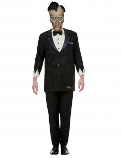 Offizielles Lurch-Herrenkostüm Die Addams Family™ schwarz-weiß