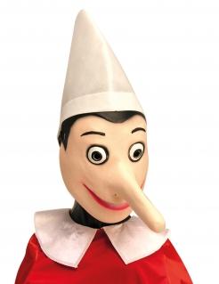 Pinocchio™-Maske für Erwachsene Faschingsmaske beige
