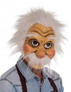 Gepetto™-Maske für Herren Faschingsmaske beige-weiss