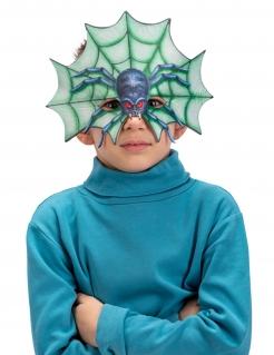 Fiese Spinnenmaske für Kinder bunt