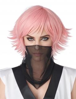 Anime-Perücke für Erwachsene Cosplay-Perücke pink