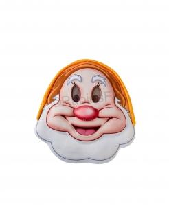 Offizielle Happy™-Halbmaske für Erwachsene Schneewittchen und die sieben Zwerge™ bunt
