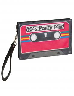 80er-Jahre Handtasche für Erwachsene Mixtape bunt