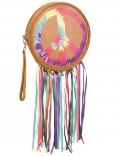 60er-Jahre Hippie-Handtasche für Damen bunt