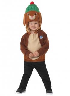 Benjamin Kaninchen™-Kostüm für Kinder Faschingskostüm braun-beige
