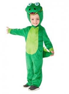Krokodil-Kostüm für Kleinkinder Faschingskostüm grün
