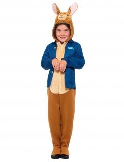 Peter Hase™-Kostüm für Kinder Faschingskostüm blau-braun