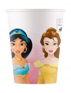 Disney™-Pappbecher Prinzessinnen-Party-Becher 8 Stück 200 ml