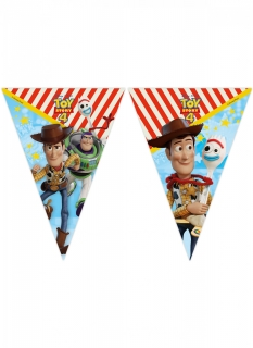 Toy Story 4™ Wimpelgirlande bunt 2,3 m