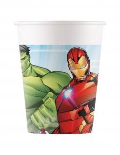 Avengers Mighty™-Trinkbecher Partydeko 8 Stück bunt 200 ml