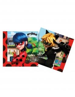 Ladybug™ Partyservietten Lizenzware 20 Stück bunt 33 x 33 cm