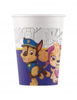 Paw Patrol™-Trinkbecher Kindergeburtstag Partydeko 8 Stück bunt 200 ml