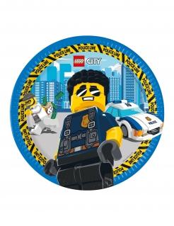 Lego City™-Pappteller FSC® zertifiziert 8 Stück bunt 23 cm
