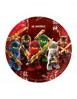 Lego Ninjago™ Partyteller Kindergeburtstag 8 Stück bunt 23 cm