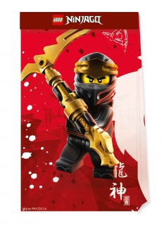 Lego Ninjago™ Geschenktüten 4 Stück bunt