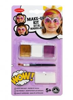 Einhorn Make-up-Set für Mädchen 3-teilig bunt
