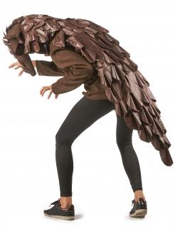 Schuppentier-Kostüm für Erwachsene Faschingskostüm