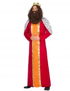 Königlicher Magier Herrenkostüm bunt