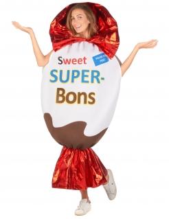 Pralinenkostüm Super-Bon für Damen bunt