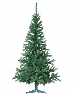Künstlicher Weihnachtsbaum mit Standfuß grün 150 cm