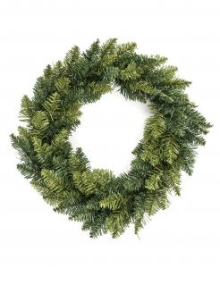 Hübscher Weihnachtskranz Tanne grün 40 cm