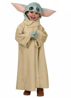 Offizielles Baby Yoda™ Lizenzkostüm für Kinder bunt